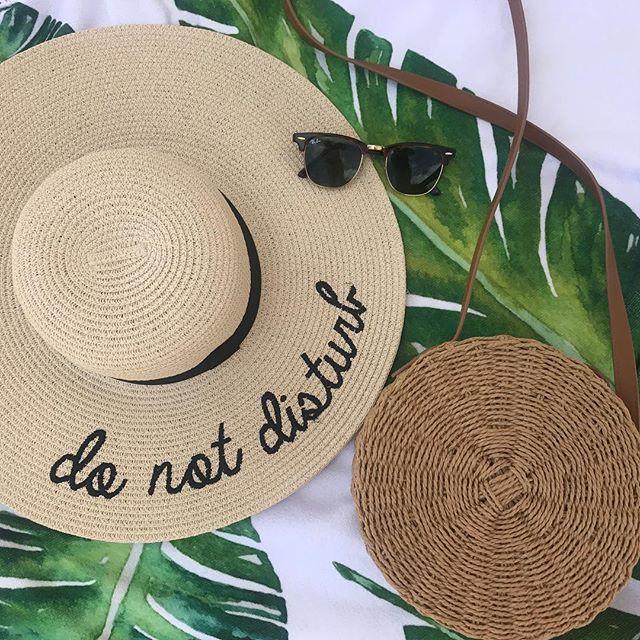 Today: beach day! 🌴 . . . #BeachDay #SaintThomas #USVI #IslandLife #Vacation #BeachSupplies #DoNotDisturb #Seriously #InmyHappyPlace #PalmTrees #Flatlay #Topshop #Rayban #charloteamalie #Summer2018 #Travel #Traveler #instatravel #VSCO
