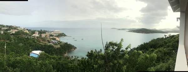 Our view from Belleview Horizon Villa.
