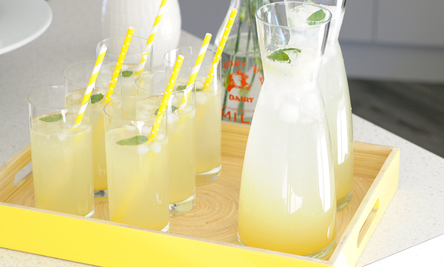 Homemade Lemonade Syrup