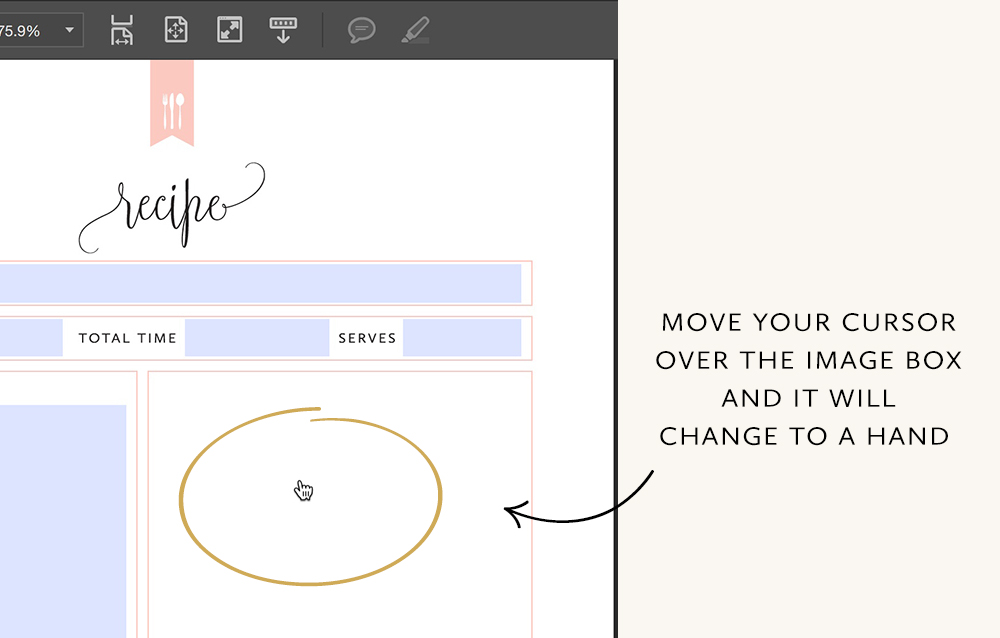 How to Add a Photo to a Printable. Step-by-step instructions by TumbleweedPress.Co