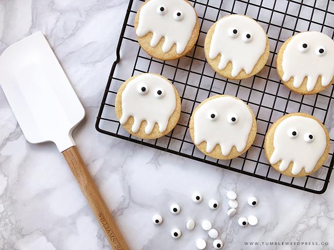 Halloween Sugar Cookies by www.TumbleweedPress.co