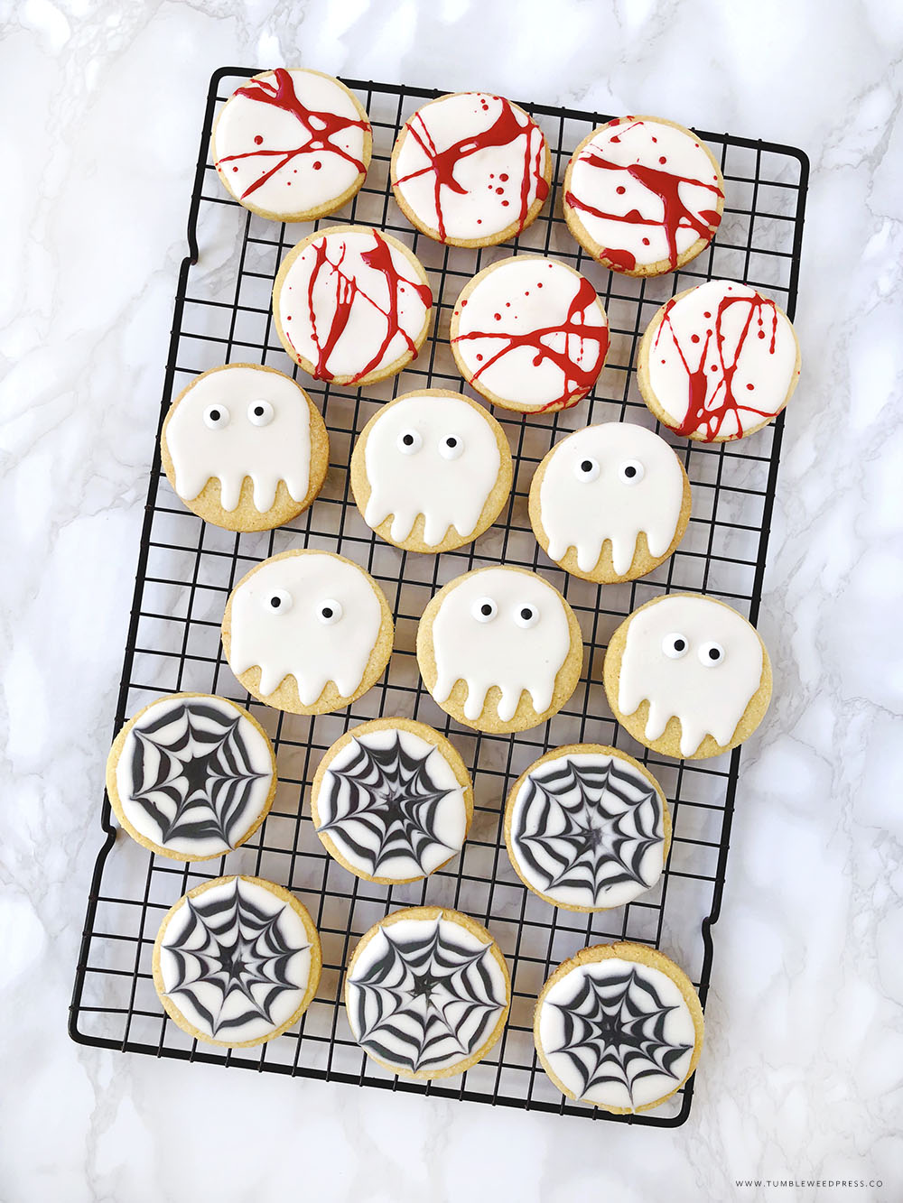 Halloween Cookies Printable Treat Bags by www.TumbleweedPress.Co