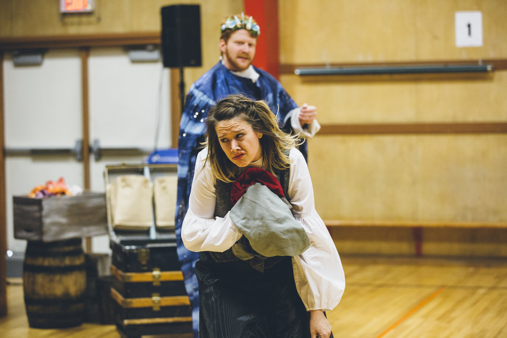 All the West's a Stage: The Tempest