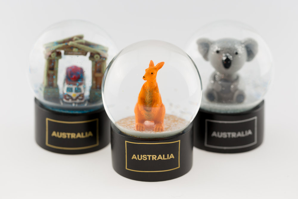 After a breathtaking experience exploring Australia's sights and scenes, take home one of these  Waterballs  to remind you of your fun times exploring Australia.