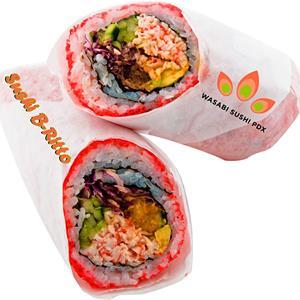 Wasabi Sushi PDX Sushi Burrito