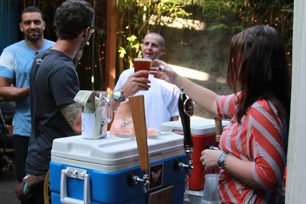 Rye Beer Fest at the EastBurn.