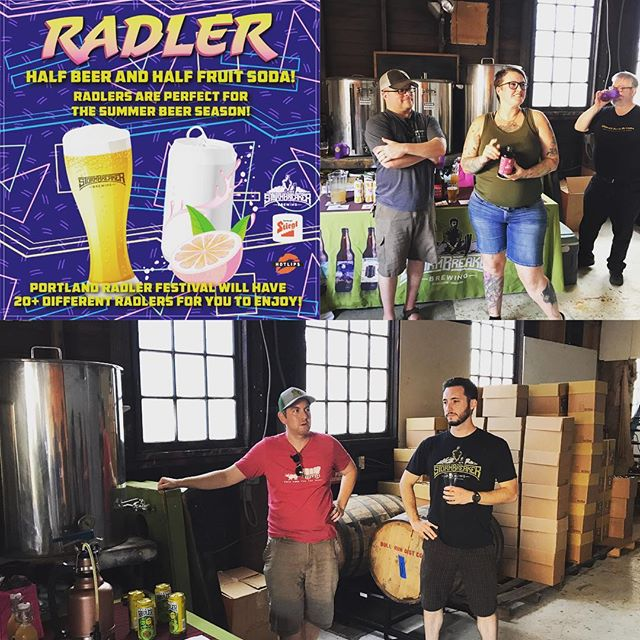 Beat the heat on Saturday with a refreshing radler @portlandradlerfestival hosted by @stormbreakerbrewing. #radler #beer #pdx