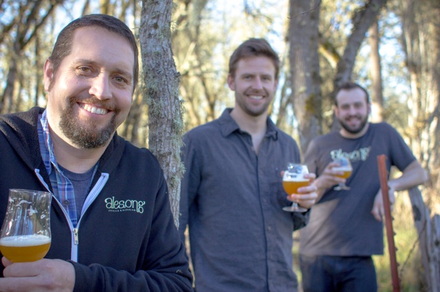 The Alesong crew. (picture courtesy of Alesong Brewing & Blending)