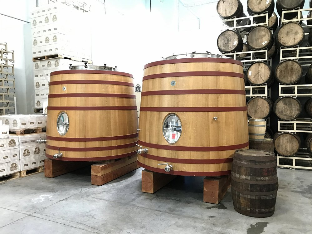 Foudres and Barrels at Pfriem.