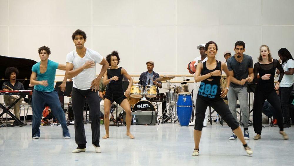 Hammadi Valdes Carlos Acosta Rehearsal