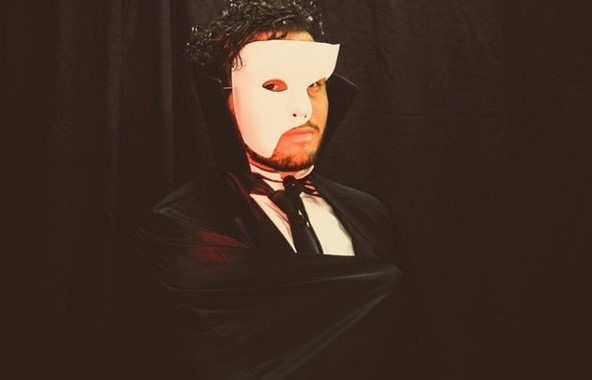 TheatreSouth Summer Camp 2015 Actor Waldis Pena playing the role of the Phantom