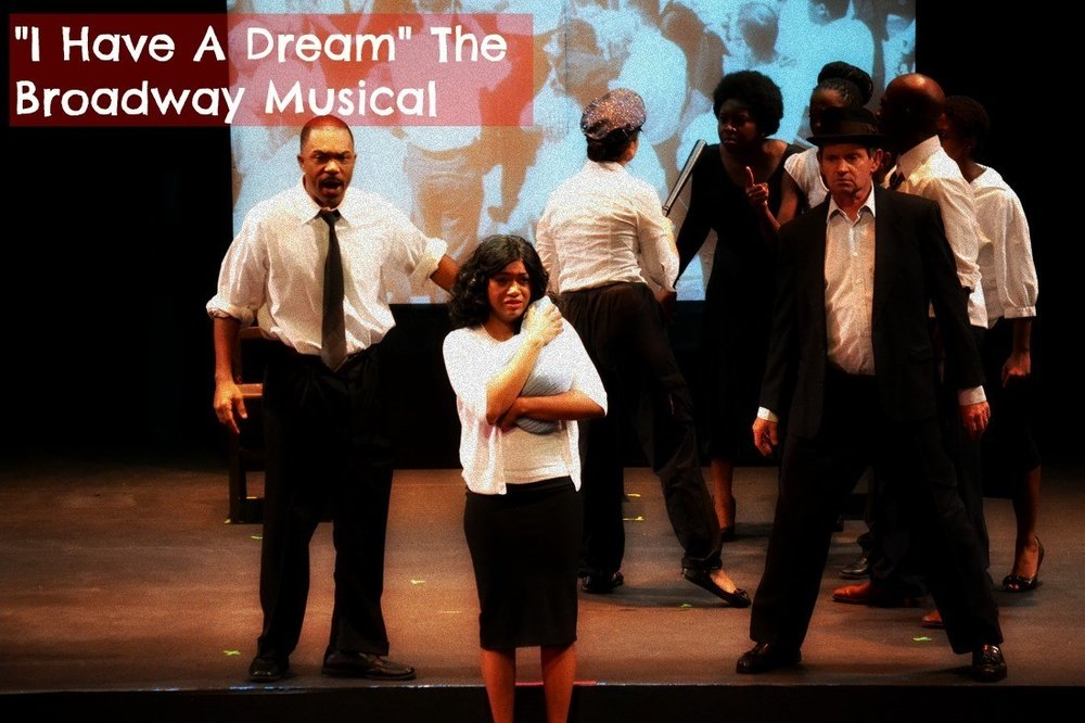 I HAVE A DREAM BROADWAY MUSICAL ON DR. MARTIN LUTHER KING, JR.     WRITTEN BY JOSH GREENFELD    DIRECTED BY HERMAN LEVERN JONES    WEDNESDAY JANUARY 24 - SATURDAY JANUARY 27, 2018    POMPANO BEACH CULTURAL CENTER