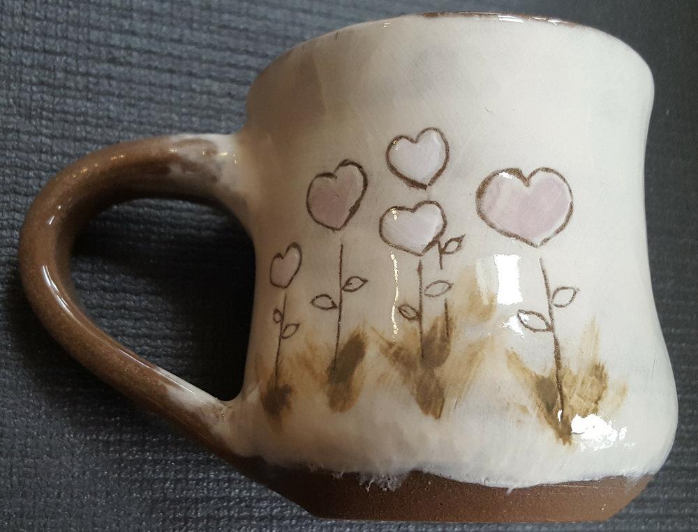 love - 8oz mug