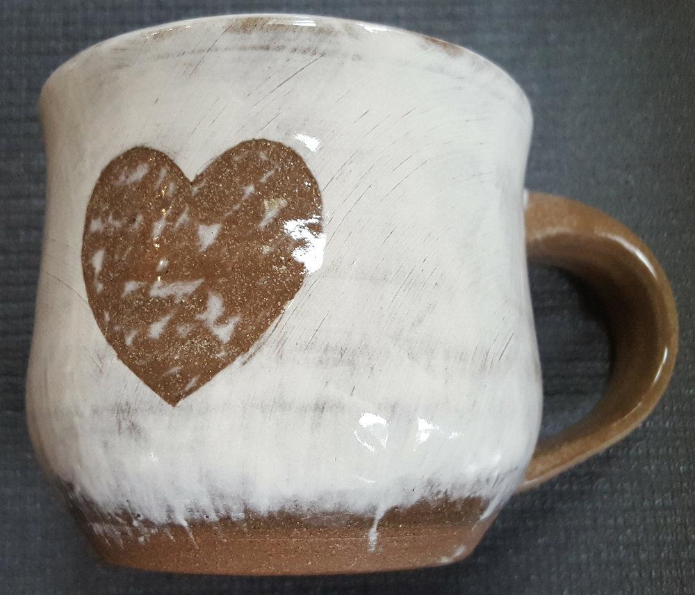 heart - 12oz mug