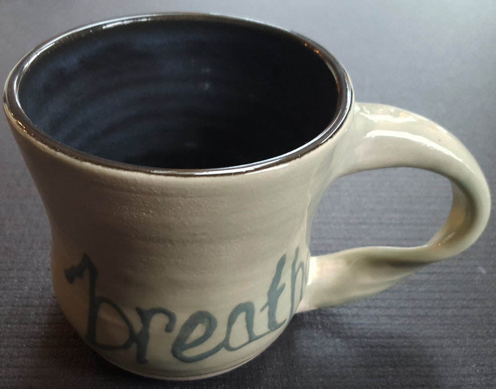 breathe - 16oz mug
