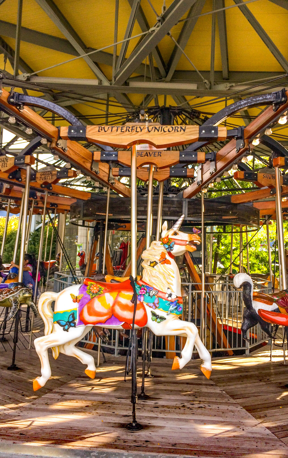 Hudson River Park Carousel, Pier 62 in Manhattan