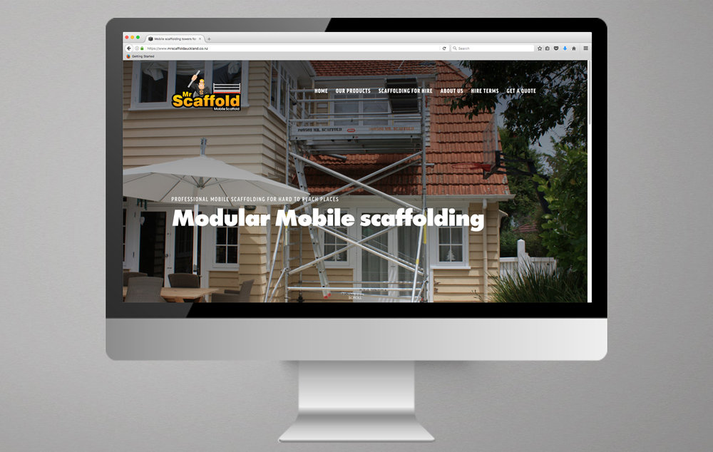 Mr Scaffold Auckland Website
