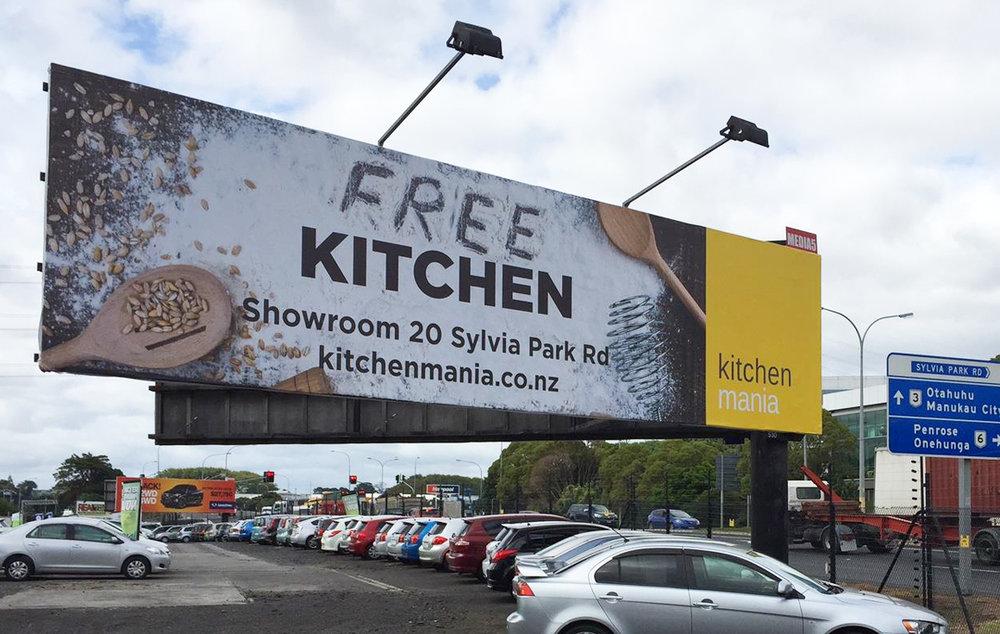 Kitchen Mania Billboards