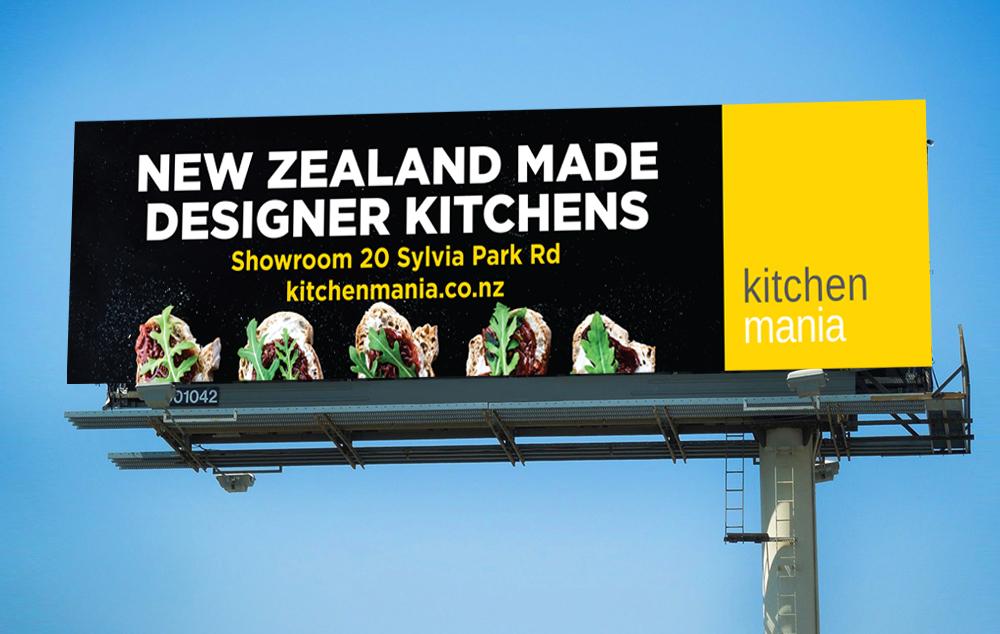 Kitchen Mania Billboard