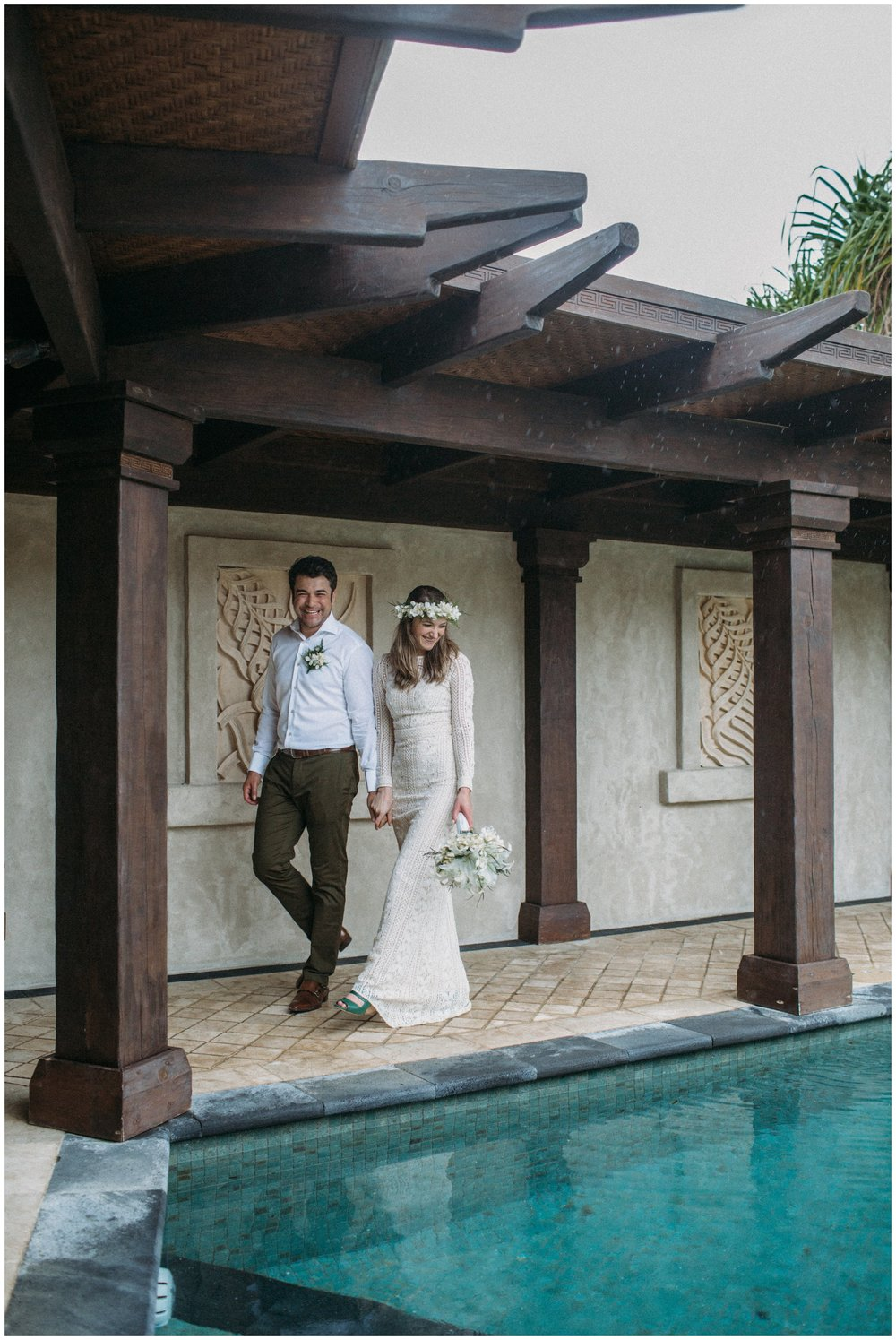 Julia + Si   Te Manava Luxury Villa Wedding, Rarotonga - Cook Islands