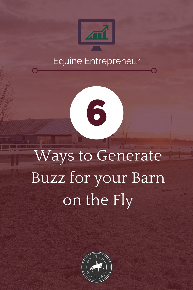 6 ideas to market your barn for free or cheap