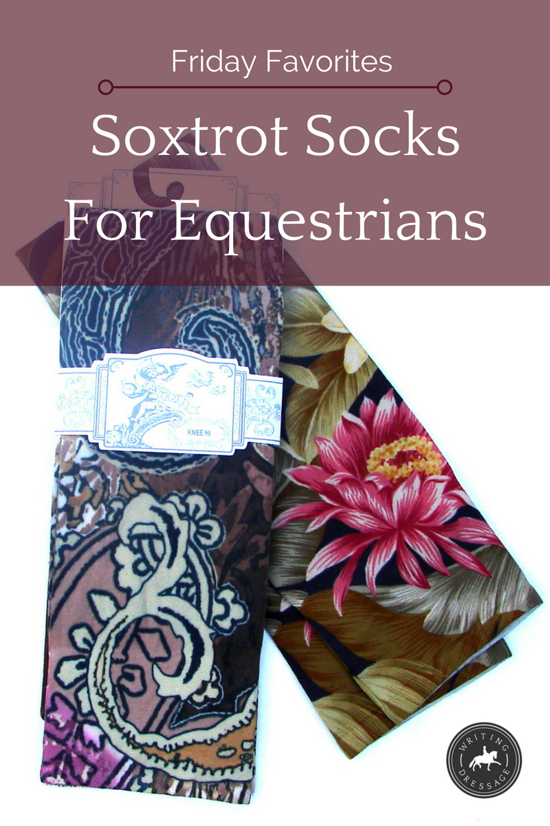Friday Favorites: Soxtrot Socks for Equestrians