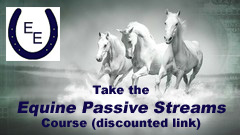 Take the Equine Passive Streams course (discounted link) - Equus Education