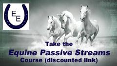 Spotlight Sunday - Christine Meunier of Equus Education - discount link to take the Equine Passive Streams course