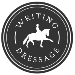 writing dressage logo