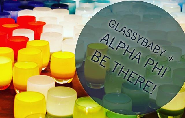 $10 reserves your spot (drinks, light apps, glass blowing demo, & more!). Non A-Phis welcome (4 tickets per alum). More details & purchase tickets at www.seattlealphaphi.com .... @glassybaby @glassybabymadrona @alphaphifoundation @alphaphiintl #alphaphi #4years4life #glassybaby #glassygirl