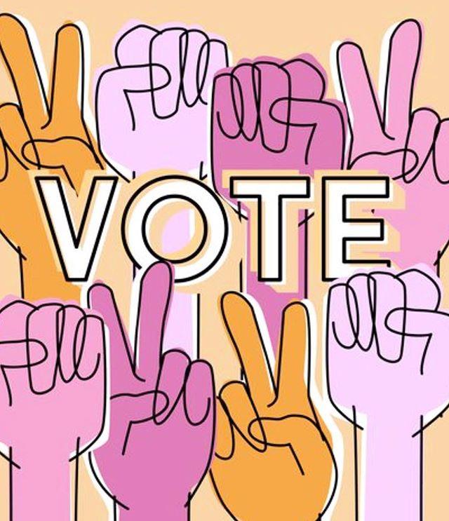 #vote #noexcuses #votevotevote