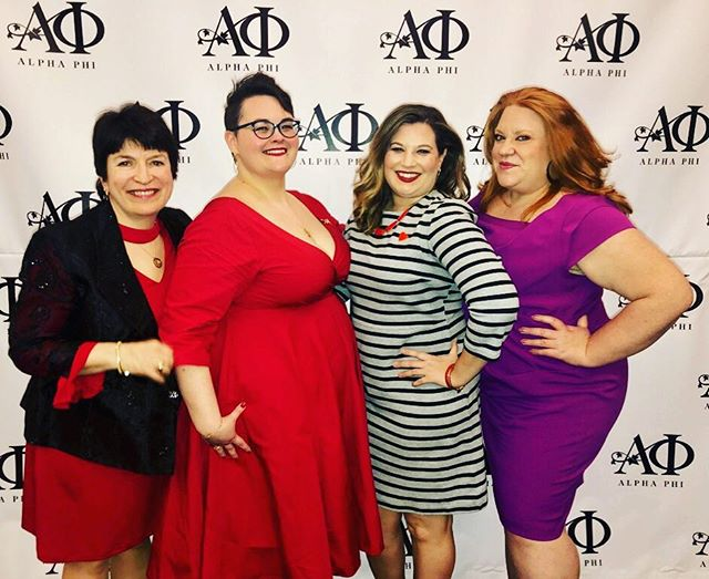 We had such a great time at @uwalphaphi #reddressgala this weekend! Love spending time with our sisters and raising money for @alphaphifoundation #seattlealphaphialumnae #reddress2019 #sisterhood #alphaphi