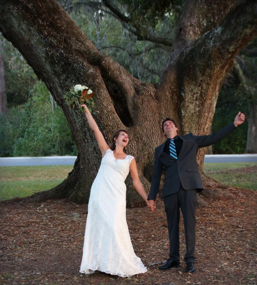 Robin & Greg, October 2016 - The Ponds, Summerville