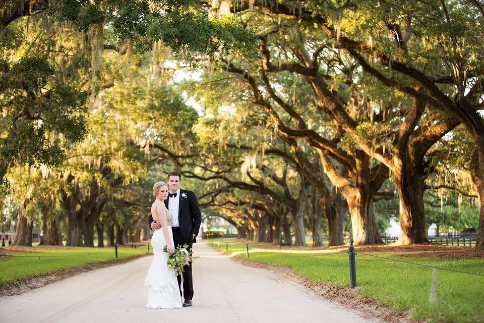 Kirk & Katie, May 2017, Boone Hall Plantation