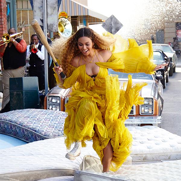 Behind the scenes from 'Lemonade.'