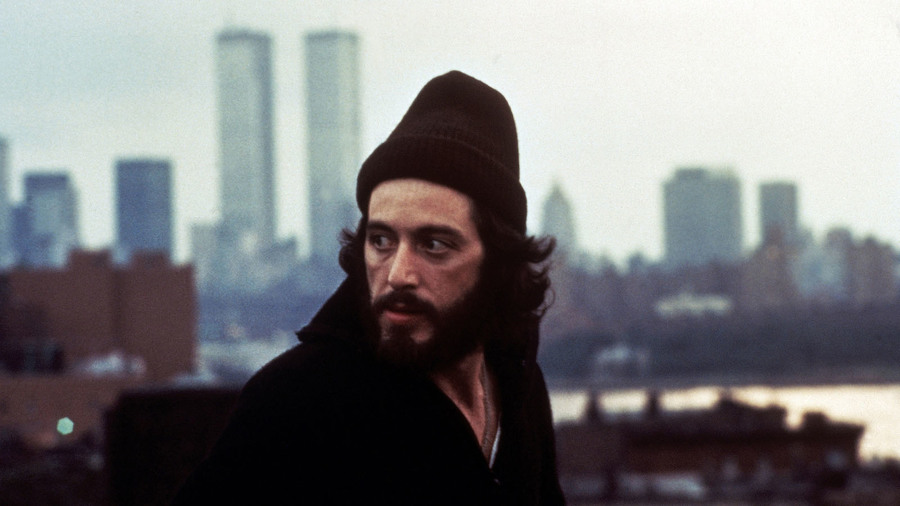 Al Pacino in Serpico (1973). Image via Criterion