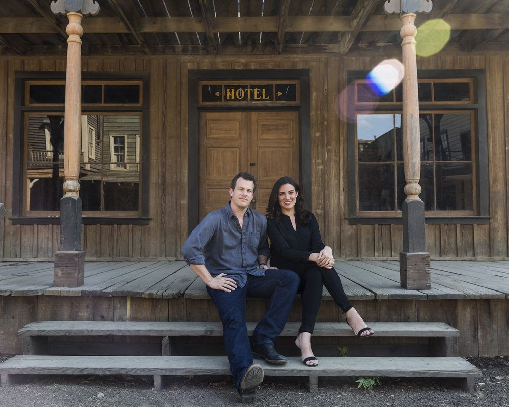 Lisa Joy and Jonathan Nolan. Image via the New York Times.