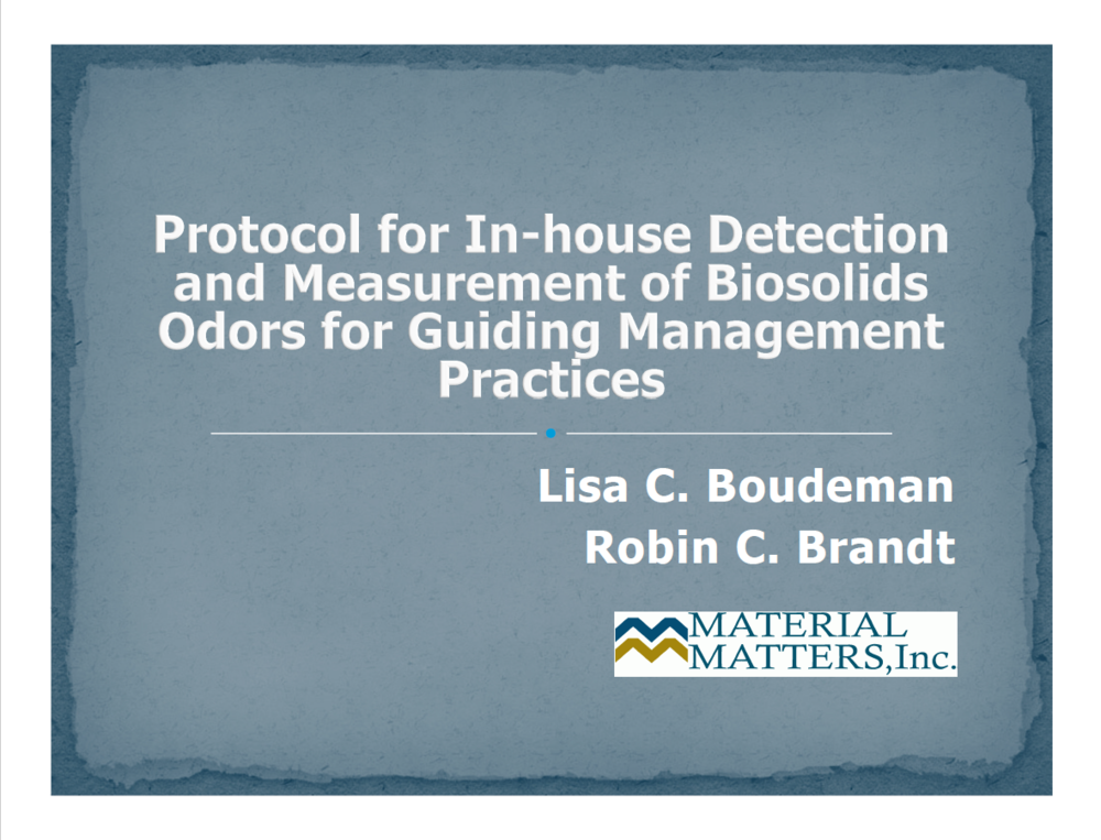 A protocol for in-house detection and measurement of biosolids odors for guiding management practices.png