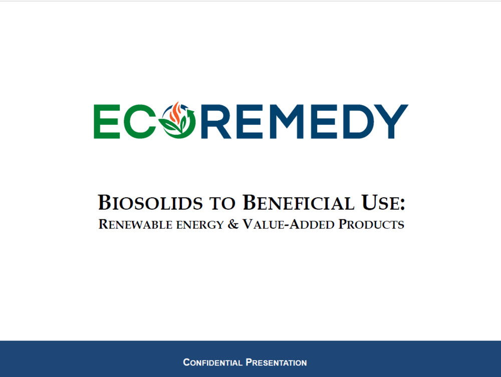 Industry Presentation - Biosolids to Beneficial Use | Dave Mooney, Ecoremedy