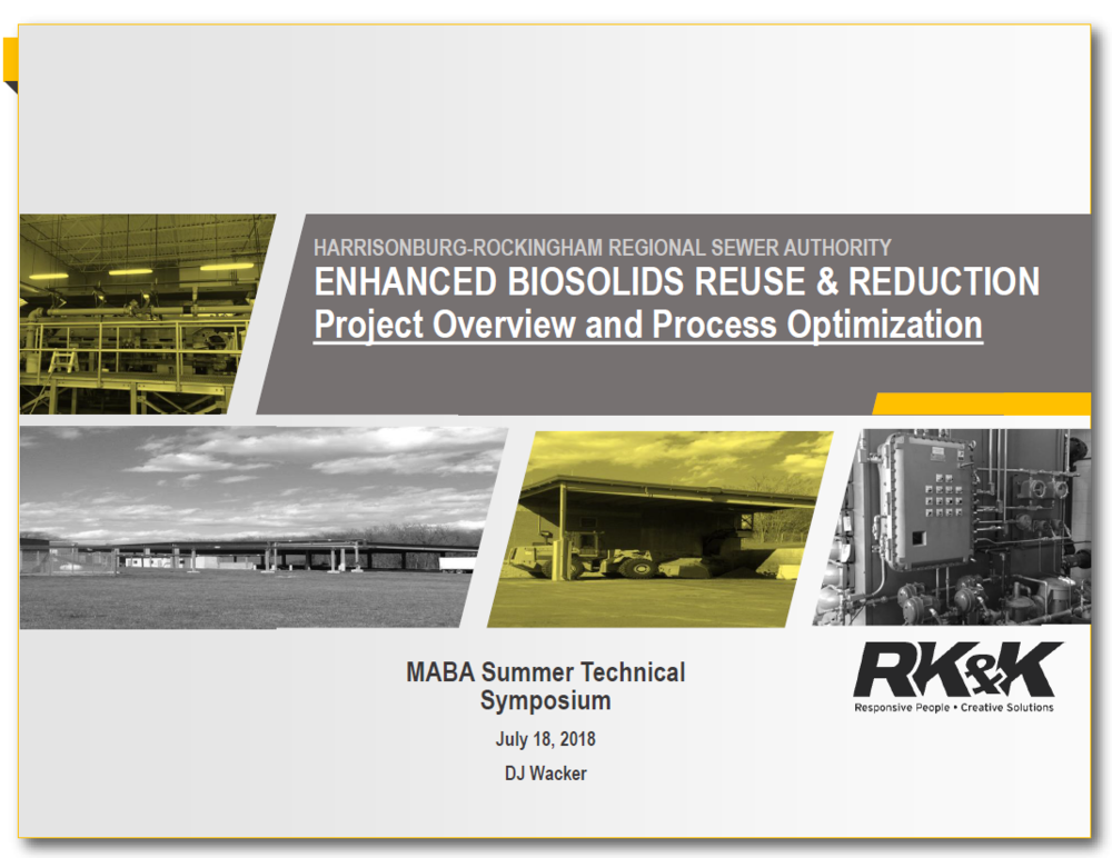 Enhanced Biosolids Reuse & Reduction | Mark Ramirez, DC Water