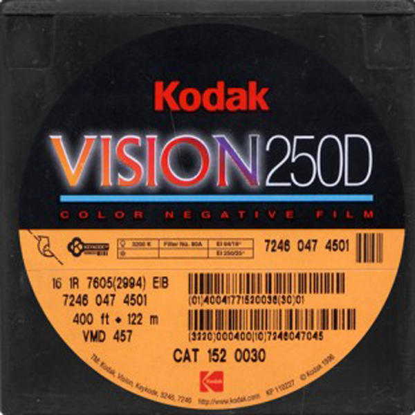 KODAK VISION 250D 7246 COLOR NEGATIVE 16MM $15 - 100ft DAYLIGHT SPOOL CURRENTLY OUT OF STOCK
