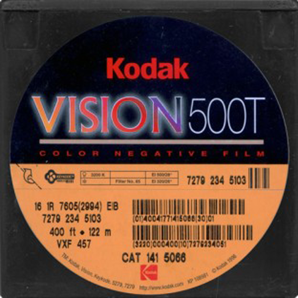 KODAK VISION 500T 7279 COLOR NEGATIVE 16MM $15 - 100ft DAYLIGHT SPOOL CURRENTLY OUT OF STOCK