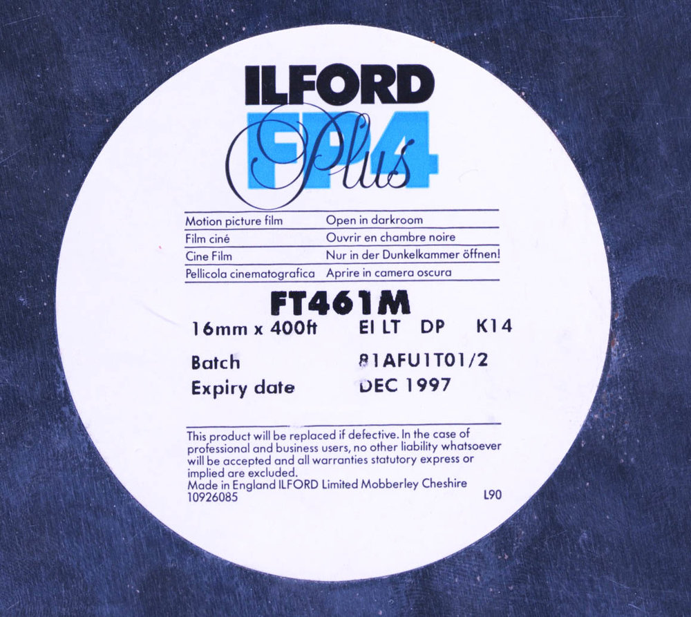 ILFORD FP4 PLUS B&W 16MM $20 - 100ft DAYLIGHT SPOOL CURRENTLY OUT OF STOCK