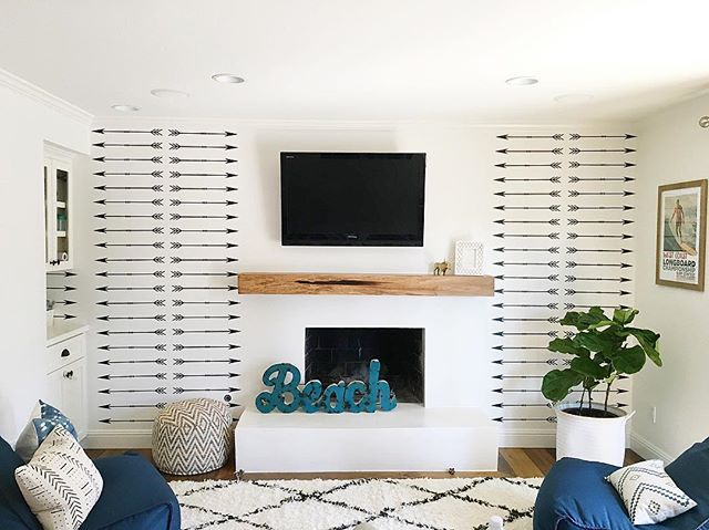 Well, decals are done, all but one furniture piece is in place, now it's time for decor and we will be finished with this amazing SoCal beachy playroom that I am totally envious of. The before and after's will blow you away! Also sharing for #lightandbrighttuesday