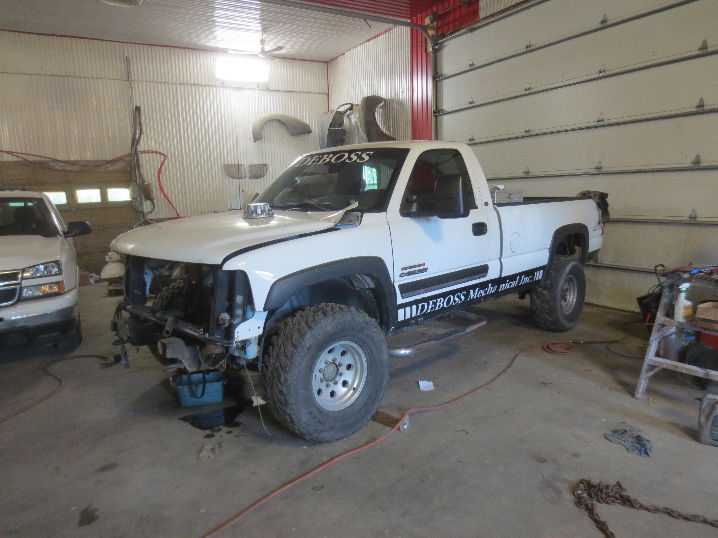 6bt Silverado Deboss Garage 1976 Chevy Truck 4x4 For Sale Well Its Time A Rebuild