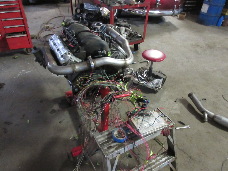 Ls Mercedes Deboss Garage W124 Wiring Harness Part Number Img 0124