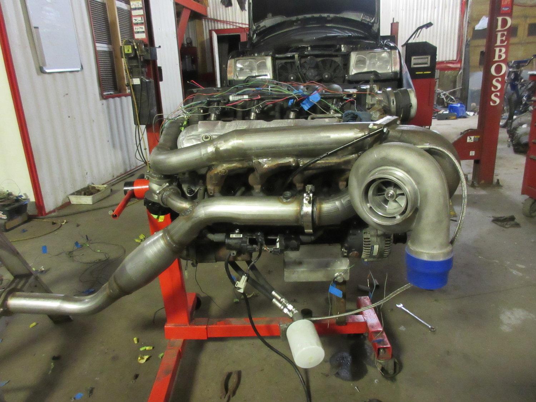 Ls Mercedes Deboss Garage W124 Wiring Harness Repair Img 0130