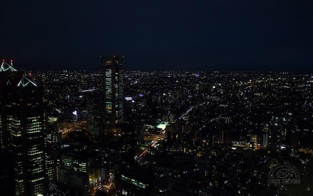Night View of Tokyo - Tokyo Metropolitan Government Building, Shinjuku Ward, Tokyo Prefecture 1980x1080.jpg