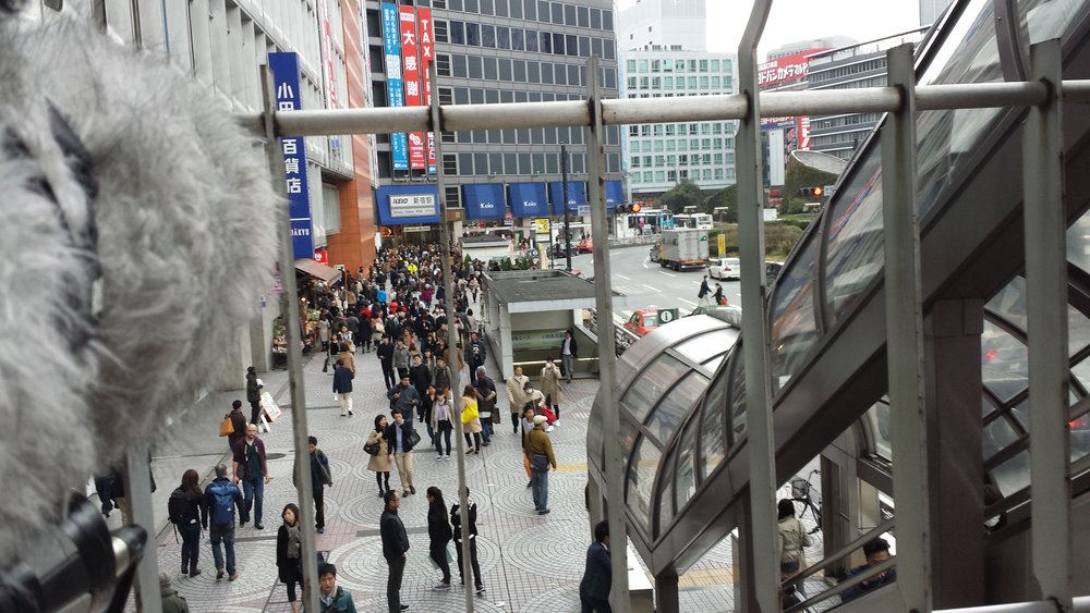 Shinjuku Station West Plaza