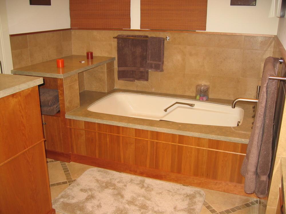Cherry master bath
